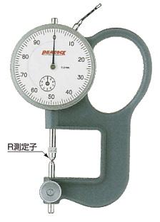 PEACOCK(尾崎製作所) ダイヤルレンズゲージ (レンズの厚み測定器) GL