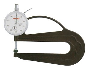 PEACOCK(尾崎製作所) 用途別 ダイヤルシックネスゲージ (厚み測定器) 0.01mmタイプ H-2.4N