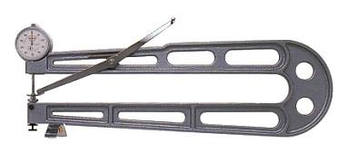 PEACOCK(尾崎製作所) ダイヤルシートゲージ (厚み測定器) 0.01mmタイプ K-3