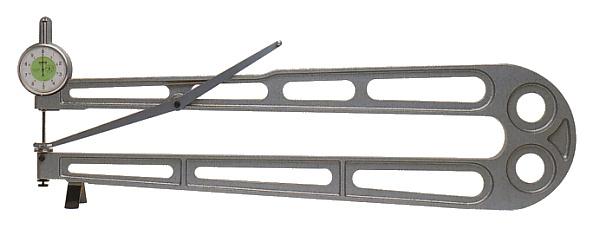 PEACOCK(尾崎製作所) ダイヤルシートゲージ (厚み測定器) 0.05mmタイプ K-7