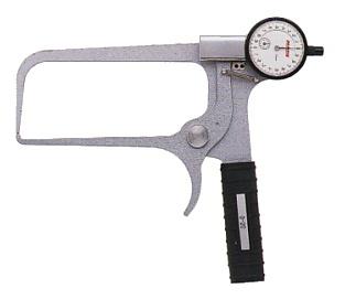 PEACOCK(尾崎製作所) ダイヤルキャリパーゲージ LA(外測)タイプ (外径、厚さ測定用) LA-31
