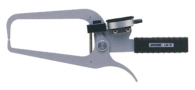 PEACOCK(尾崎製作所) ダイヤルキャリパーゲージ LA(外測)タイプ (外径、厚さ測定用) LA-5