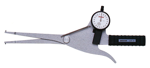 PEACOCK(尾崎製作所) ダイヤルキャリパーゲージ LB(内測)タイプ (内径、溝幅測定用) LB-5