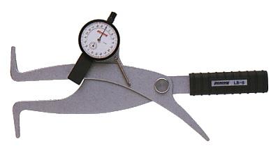 PEACOCK(尾崎製作所) ダイヤルキャリパーゲージ LB(内測)タイプ (内径、溝幅測定用) LB-9