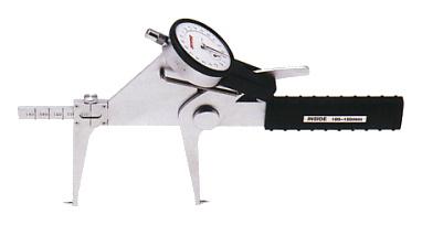 PEACOCK(尾崎製作所) ダイヤルキャリパーゲージ LB(内測)タイプ (内径、溝幅測定用) LH-2