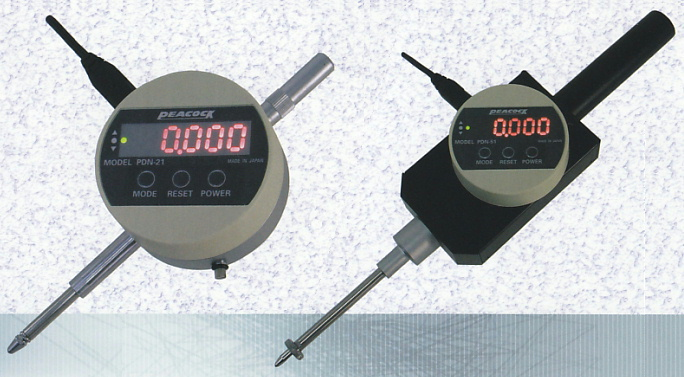 PEACOCK(尾崎製作所) デジタルゲージ 表示一体型タイプ PDN-51