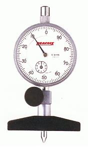 PEACOCK(尾崎製作所) ダイヤルデップスゲージ Tシリーズ T-2