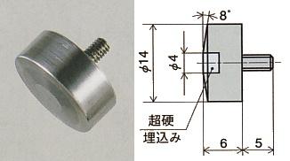 XB-506PEACOCK(尾崎製作所) 超硬平皿形測定子 XB-506, リスカイ:8862780f --- sunward.msk.ru