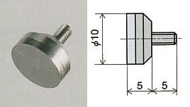 PEACOCK(尾崎製作所) 超硬平座形測定子 XB-605