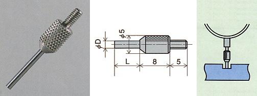 PEACOCK(尾崎製作所) ニードル測定子 XB-803