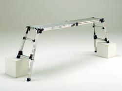 【代引不可】 PiCa (ピカ) 四脚アジャスト式足場台 DWV-S86A 【特価】 【メーカー直送品】