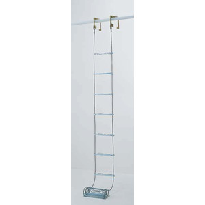 【直送品】 PiCa (ピカ) 避難用 ワイヤーロープはしご(国家検定合格品) ER-63