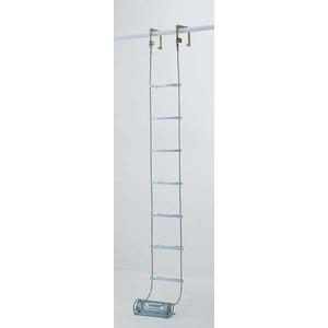 【直送品】 PiCa (ピカ) 避難用 ワイヤーロープはしご(国家検定合格品) ER-72