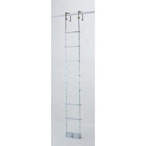 【直送品】 PiCa (ピカ) 避難用 鋼製折りたたみはしご(国家検定合格品) ES-63