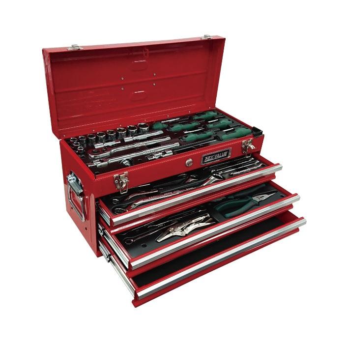 安全で安心な豊かな暮らしのために 【直送品】 SATA REX1/2工具セット RS12788X 【個人宅配送不可】 【大型】