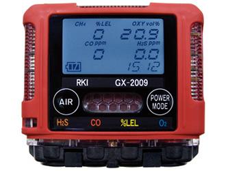 理研計器 (RIKEN KEIKI) ポケッタブルマルチガスモニター GX-2009-TYPE D
