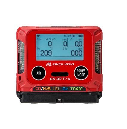 理研計器 (RIKEN KEIKI) ポータブルガスモニター GX-3R Pro (乾電池仕様)