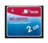 【直送品】 リオン (RION) メモリカード MC-20CF2 (CFカード)