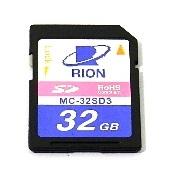 最初の  【ポイント10倍】 【直送品】 リオン (RION) メモリカード MC-32SD3 (SDカード), 春日部市 76d44d0b