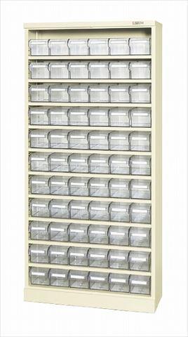 【大放出セール】 コンテナラックケース(パーツボックス付) SCR-18JI (144733) 《工具保管》 (SAKAE) 【大型】:道具屋さん店 【直送品】 サカエ-DIY・工具