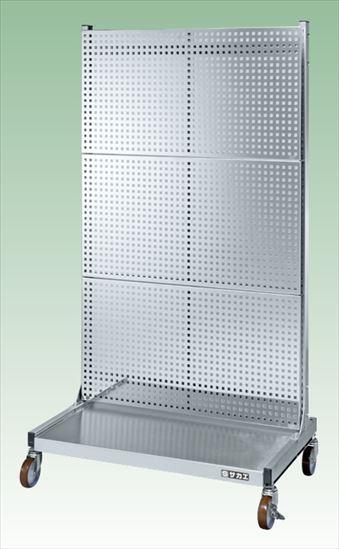 【直送品】 サカエ (SAKAE) ステンレスラックシステム PLS-3PSUR (084204) 《パネルハンガー・パーティション》 【大型】