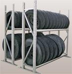 【代引不可】 三進金属工業 (SANSHIN) タイヤラック PRTY03141745-2K 小型車クラス 【メーカー直送品】