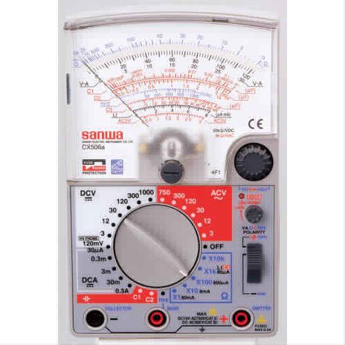 三和電気計器 (SANWA) アナログマルチテスタ CX506a