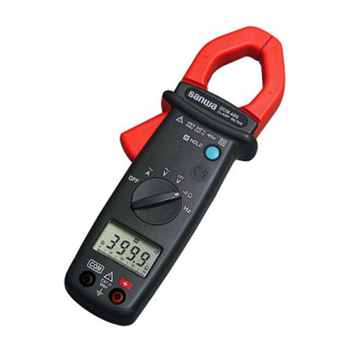三和電気計器 (SANWA) クランプメータ (ケース付属) DCM400