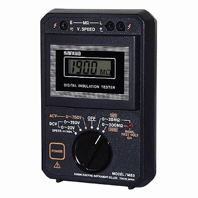 三和電気計器 (SANWA) 絶縁抵抗計 (ケース付属) M53