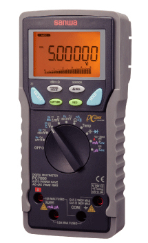 DCV50万カウント 販売 デュアル表示 授与 在庫品 三和電気計器 SANWA デジタルマルチメータ PC7000