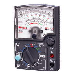 三和電気計器 (SANWA) アナログマルチテスタ TA55