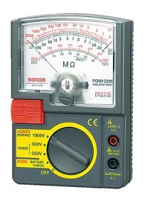 三和電気計器 (SANWA) 絶縁抵抗計 PDM1529S (4366)