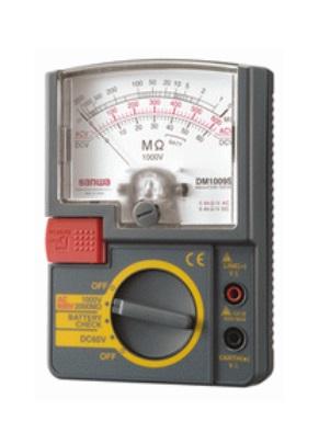 三和電気計器 (SANWA) 絶縁抵抗計 DM1009S