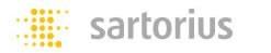 ザルトリウス (sartorius) FC/FCAシリーズ用オプション 表示部壁掛用ブラケット(SUS製) YDH01F
