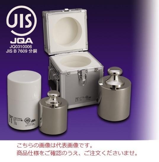 【直送品】 【分銅】 JISマーク付基準分銅型円筒分銅(非磁性ステンレス) F1CSB-5KJ F1級(特級)分銅