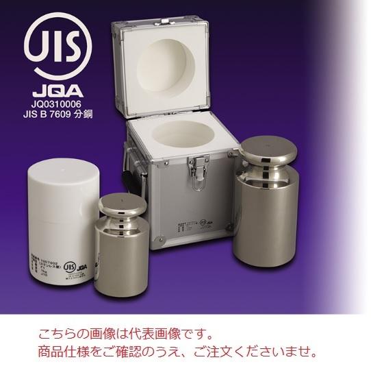 【直送品】 【分銅】 JISマーク付OIML型円筒分銅(非磁性ステンレス) F1CSO-5GJ F1級(特級)分銅