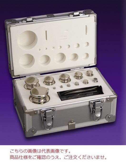 【直送品】 【分銅】 セット分銅 JISマーク付OIML型円筒分銅(非磁性ステンレス) F1CSO-5KAJ F1級(特級)分銅