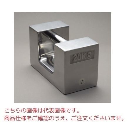 【直送品】 【分銅】 枕型分銅(ステンレス)[鋳造用ステンレス鋼] M1RSL-10K M1級(2級)分銅