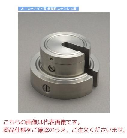 【直送品】 【分銅】 増おもり型分銅(非磁性ステンレス) M2SS-500G M2級(3級)分銅