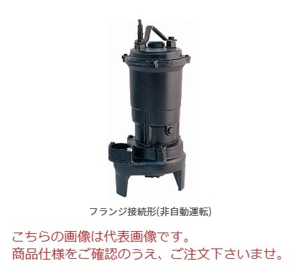 【直送品】 新明和工業 設備用水中ポンプ CVH100-F100B-15kw-60Hz (CVH100-F100B156) (渦流タイプ) 【大型】