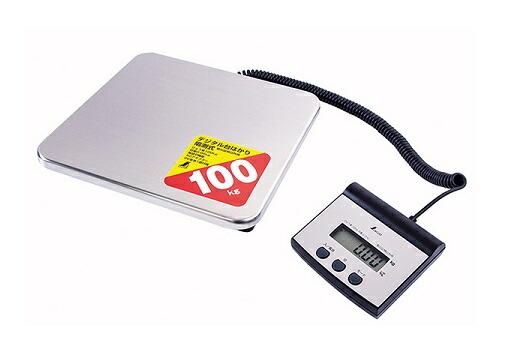 シンワ測定 デジタル台はかり 100kg 70108 (隔測式)(取引証明以外用)