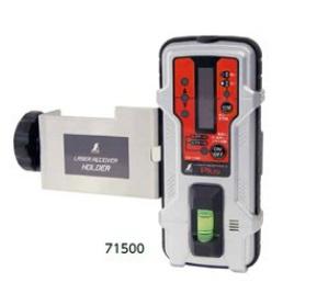 シンワ測定 受光器 レーザーレシーバー II Plus ホルダー付 71500
