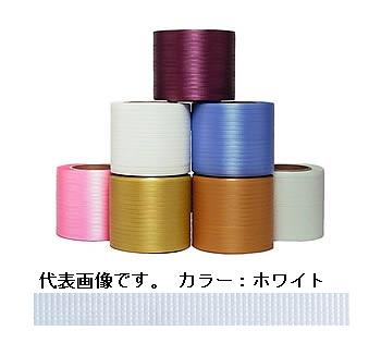 SPOT (スポット) ティピーテープ FT-01 (セミ) ホワイト 750m×6巻(巾8mm) (FT-01SEMI) 《梱包資材》