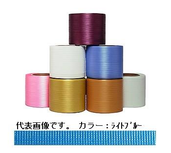 イチネンSHOKO SPOT (スポット) ティピーテープ FT-02 (セミ) ライトブルー 750m×6巻(巾8mm) (FT-02SEMI) 《梱包資材》