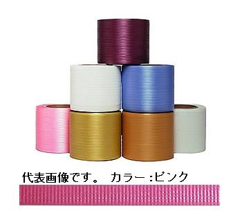 イチネンSHOKO SPOT (スポット) ティピーテープ FT-03 (セミ) ピンク 750m×6巻(巾8mm) (FT-03SEMI) 《梱包資材》