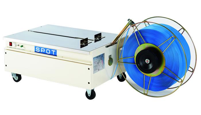 【代引不可】 イチネンSHOKO SPOT (スポット) 低床型半自動梱包機 LSA-L4 ※標準仕様(バンド幅15.5mm) 《半自動梱包機》 【大型】
