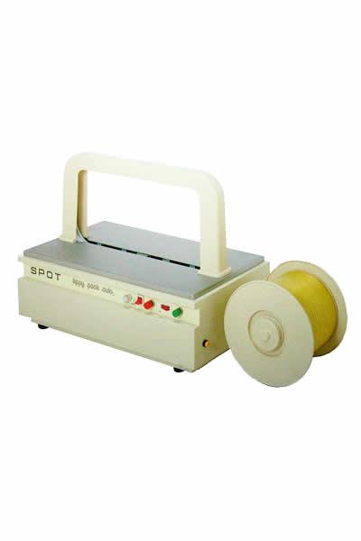 【代引不可】 イチネンSHOKO SPOT (スポット) 卓上型全自動結束機 TA 《ティピーテープ対応結束機》 【大型】
