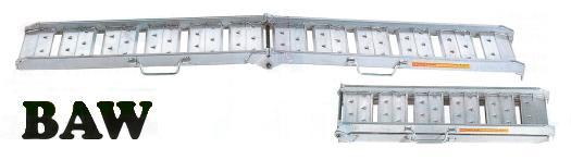 【代引不可】 昭和ブリッジ アルミブリッジ BAW-240-30-0.5 (0.5t/2本セット) 【受注生産品】 【メーカー直送品】