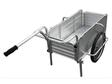 【ポイント5倍】 【直送品】 昭和ブリッジ オールアルミ製折りたたみ式リヤカー SMC-10C 【法人向け、個人宅配送不可】 【大型】