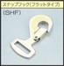 【直送品】 シライ (東レ) ラチェットバックル ストレート型 スナップフック フラット RK-50L 1+5=6m SHF500